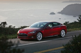 Tesla Model S photo by Tesla Motors